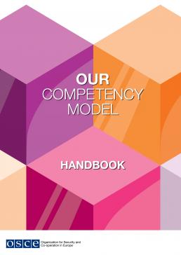 OSCE competency model cover