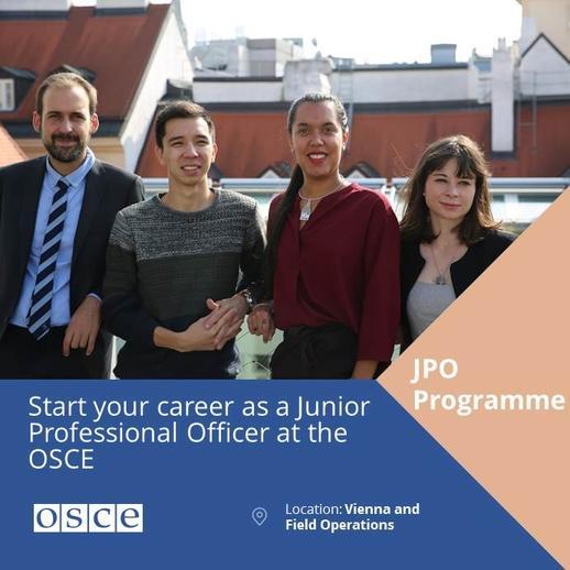 Junior Professional Officer Programme | OSCE Employment