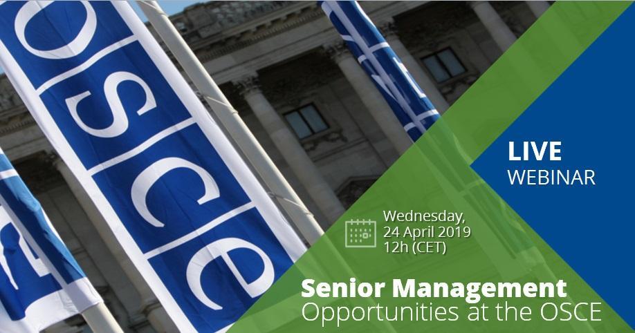 Senior Management Recruitment Drive