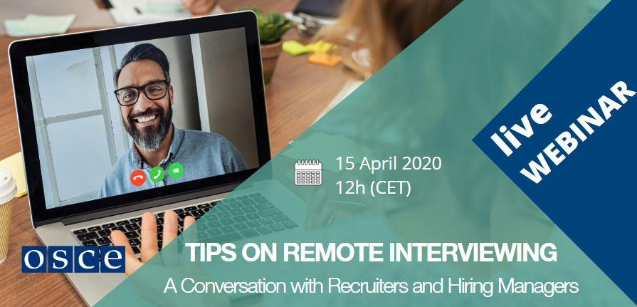 Tips on Remote Interviewing: A Conversation with Recruiters and Hiring Managers