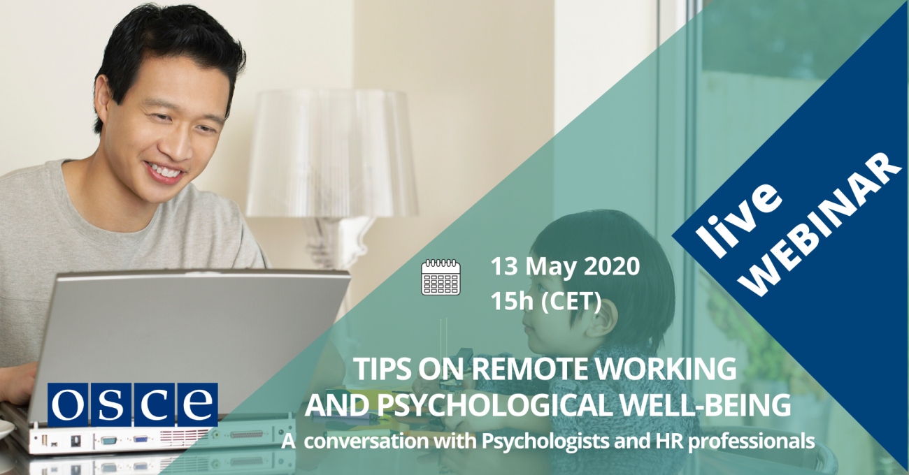 Tips on Remote Working and Psychological Well-Being