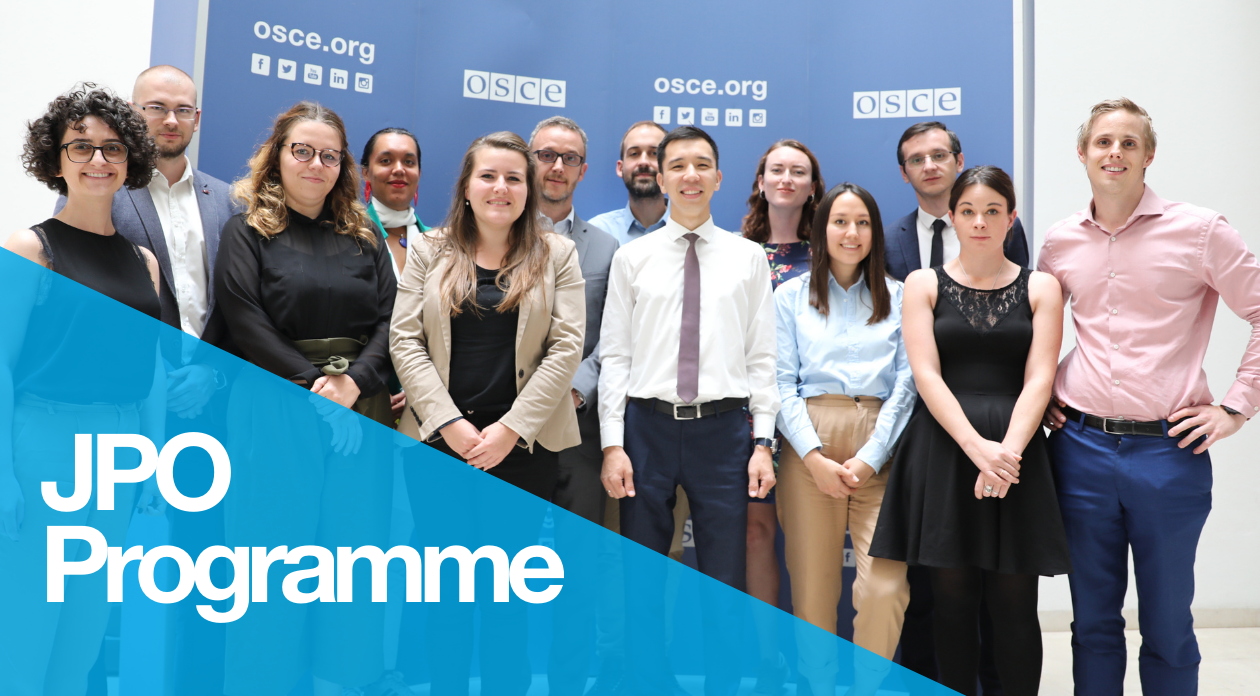 Junior Professional Officer Programme at the OSCE