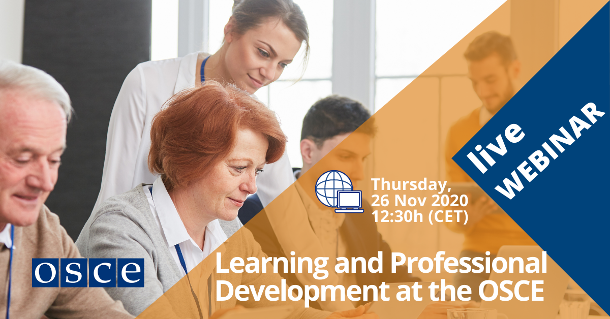 Learning and Professional Development Opportunities at the OSCE