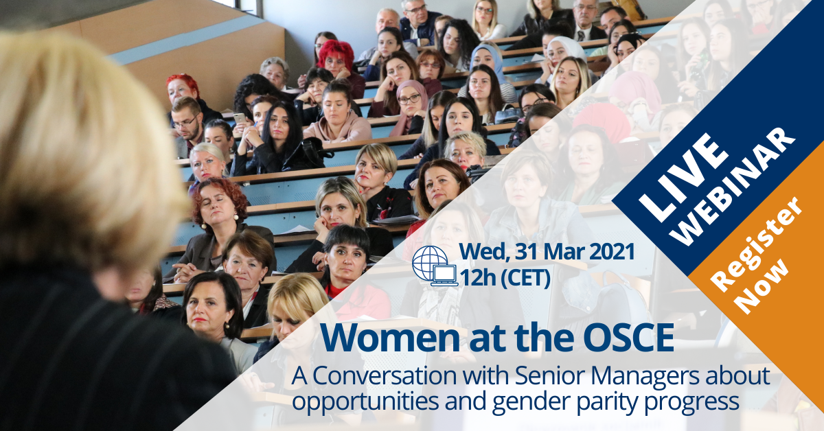 Open Event - Women at the OSCE